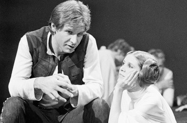 Carrie Fisher y Harrison Ford, xlsemanal